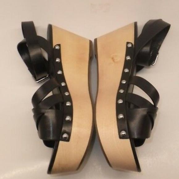 c3f22ce9f8e Marc Fisher Camilla Crisscross Sandals Wooden 🌟